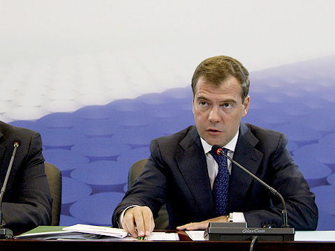 Конференц-система GlavCom GC-V6 на заседании комиссии по модернизации и технологическому развитию экономики с участием Д. А. Медведева